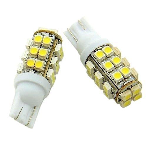 Super Bright Queue lumière LED Lampe Wedge T10-smd Coupelle de voiture 3528 Côté Blanc
