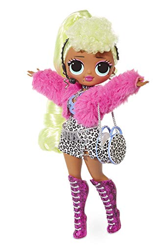 LOL Surprise O.M.G. Diva 559788E7C Fashion Doll, 20 Sorprese
