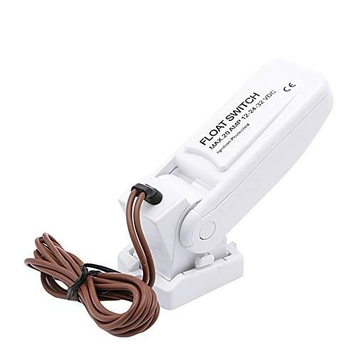 KKmoon Bomba de Achique Automática 12V 1100GPH Interruptor de Flotador de Sentina Sensor de Flujo para Bomba de Agua Eléctrica