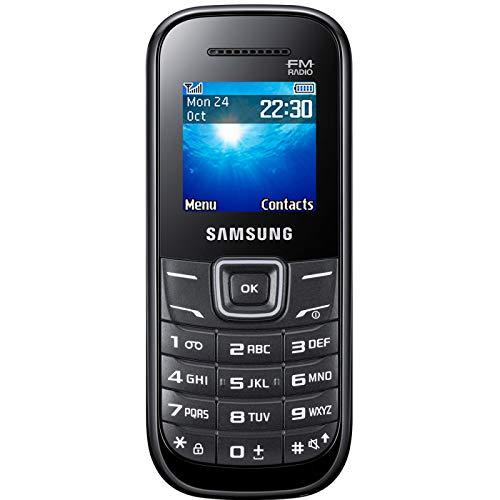 SAMSUNG Keystone 2 GT-E1205Y Nero SIM Free