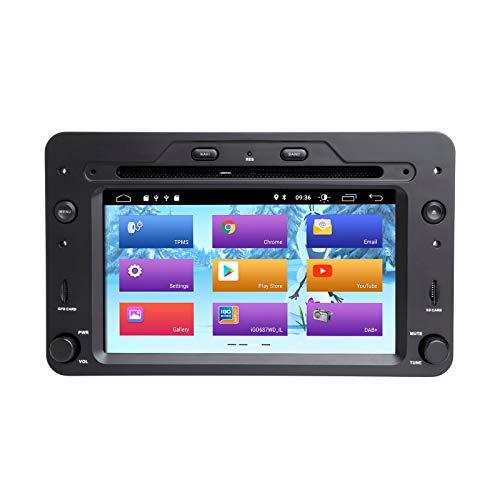 ZLTOOPAI Android 9.0 AutoRadio 1 din GPS Navigation Für Alfa Romeo 159 Brera Spider Sportwagen WiFi Stereo DVD Mulltimedia Audio