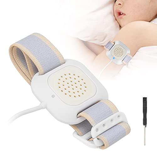 Electric Bedwetting Alarm, High Sensitivity Bedwetting Sensor Alarm, Potty Training Nocturnal Enuresis Sensor Bed Wetting Monitor for Children Elderly
