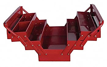 Westward 10J171 Portable Tool Box 17Wx8Dx8-1/4H Red