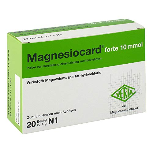 Magnesiocard forte 10 mmol, 20 St. Beutel