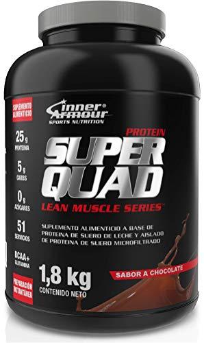 Inner Armour Blue Super Quad Protein Dbl Choc 4l