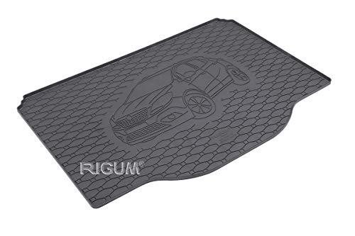 RIGUM Passgenaue Kofferraumwanne geeignet für OPEL Mokka ab 2012 + Autoschoner MONTEUR
