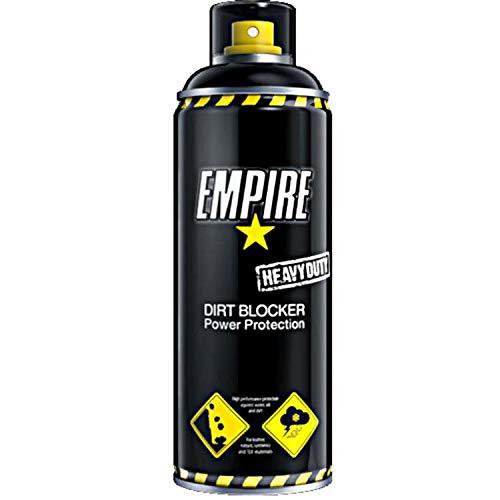 Empire Motorrad-Pflegemittel, Motorrad-Bekleidungspflege Heavy Duty Dirt Blocker Imprägnierspray 400ml, Unisex, Multipurpose, Ganzjährig