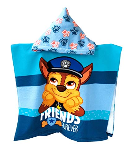 Theonoi Toalla de baño con capucha poncho para niños, gran regalo de microfibra