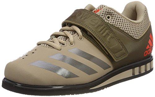ADIDAS PERFORMANCE Powerlift 3.1 Chaussure d'haltérophilie Homme, Beige (Tech Beige F13/Trace Olive F17/Core Black Tech Beige F13/Trace Olive F17/Core Black), 54 2/3 EU