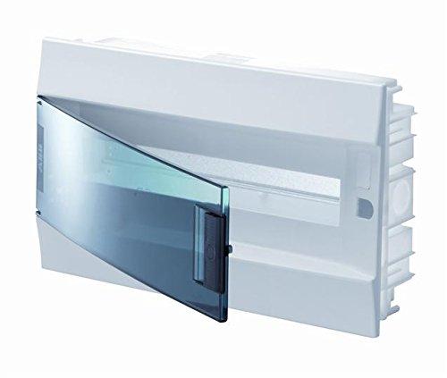 Abb-entrelec mistral41f inbouwdoos mistral41 series 850 18 modules deur transparant