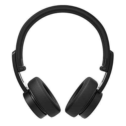 Urbanista Detroit On Ear-Bluetooth-Kopfhörer [HERAUSRAGENDER Klang MIT Stil], bis zu 12Stunden Wiedergabezeit, Telefonieren per Mikrofon – Dark Clown