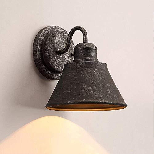 Mkj wandlampen hallampen spiegel frontlampen hallampen wandlampen metaal industriële vintage wandlampen retro wandlampen ijzer E27