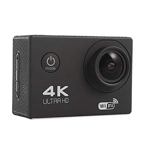 KoTag Action Camera Ultra HD Durable Sport Action Camera 4K WiFi Allwinner V3 Chipset OV4689 16.0MP HD Image Sensor (Color : Black, Size : One Size)