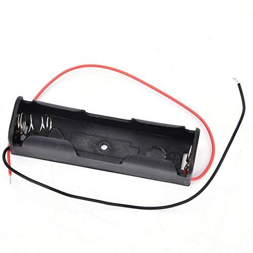 Shipenophy 18650 3.7 estable batería caso almacenamiento de batería para batería (1 batería)