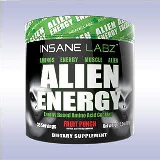 INSANE LABZ | Alien Energy Amino Acid Cocktail | Fruit Punch - 30 Servings