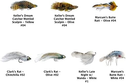 Bull 70% OFF Outlet Trout Fly Assortment Ranking TOP2 Kit Streamers - MFC 7