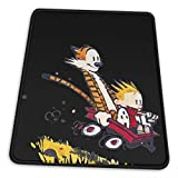 Lidanie Vertical Gaming Mouse Pad Calvin and Hobbes Gaming Mouse Pad 8.3 X 10.3 in Office Non-Slip Mouse Pad