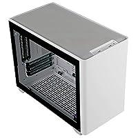 Cooler Master MasterBox NR200P ホワイト Mini-ITX/DTX PCケース 強化ガラスパネル付属 SFX電源対応 CS7903 MCB-NR200P-WGNN-S00