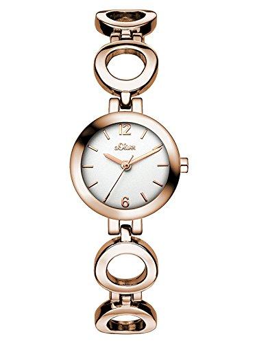 s.Oliver Damen-Armbanduhr XS Analog Quarz Alloy SO-3020-MQ