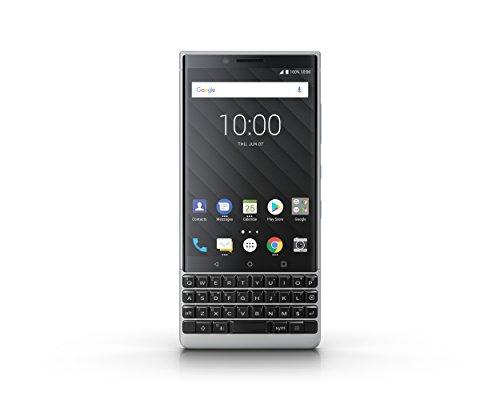 "Blackberry Key2 - Smartphone de 4.5"" (SMD 660 Kryo 260, RAM de 6 GB, memoria de 64 GB, cámara de 12+12 MP), Plata"