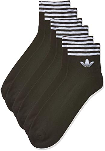 adidas Tref ANK Sck HC Socks, Unisex Adulto, Black/White, 3942