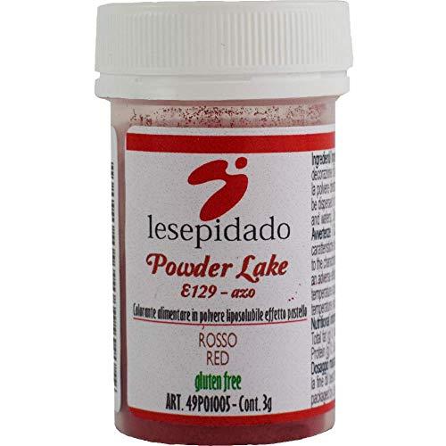 Colorante alimentare in polvere liposolubile 3g (Rosso)