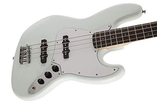 SquierbyFenderエレキギターFSRAffinityJazzBass®,LaurelFingerboard,SonicBlue