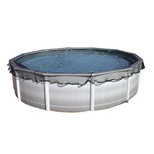 HARRIS Deluxe Leaf Net for 24' Above Ground Round Pool