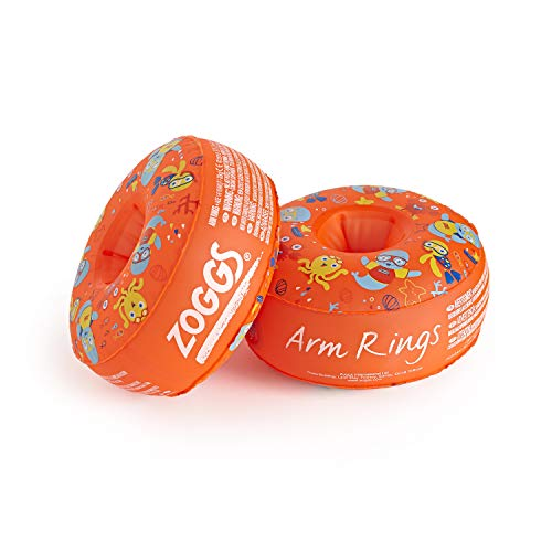 Zoggy Arm Rings, Dual Buoyancy Swimming Arm Bands(1-6 yrs)