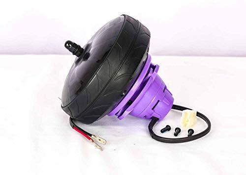 Auténtico Razor E100Power Core rueda trasera con motor, morado