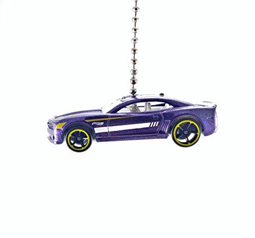 Hot Wheels Chevy Camaro Diecast Ceiling Fan Light Pull Onaments (2012 Camaro ZL1 Camo) -  CTR Customs