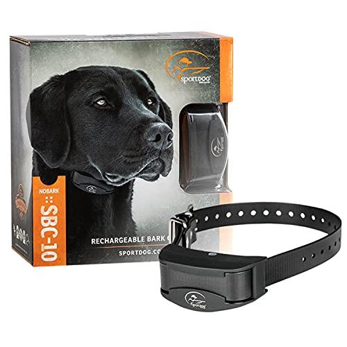 SportDOG NoBark SBC-R Waterproof Rechargeable Dog Bark Collar