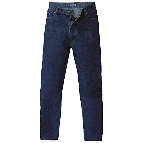 Duke Mens Rockford Comfort Fit Jeans (32S) (Indigo)
