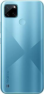 realme C21Y Dual SIM Smartphone Cross Blue 4GB RAM 64GB 4G LTE, realme C21Y Cross Blue 4GB+64GB, RMX3261, 4+64