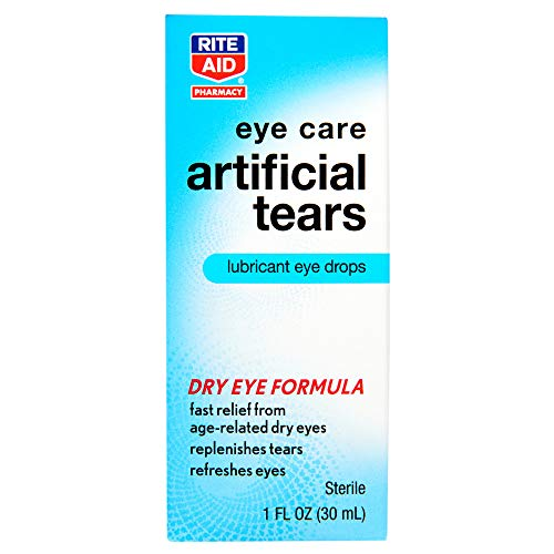 Rite Aid Artificial Tears, Polyethylene Glycol - 1 oz   Lubricant Eye Drops