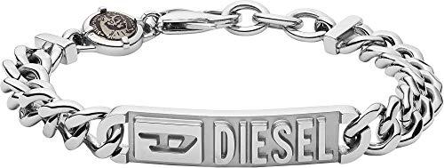 Diesel Herren-Herrenarmband One Size Silber 32012388