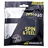 Babolat RPM Blast 17g Plus Touch VS 16g Hybrid Tennis String 2 Pack Set - Best Raquet String for...