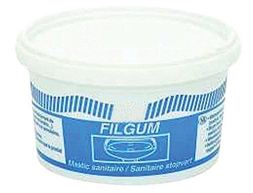 mastic sanitaire d'étanchéité filgum - pot de 500 grammes - geb