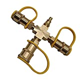 <span class='highlight'>Propane</span> Y-Splitter 3 Way Solid Brass for <span class='highlight'>BBQ</span> <span class='highlight'>Grill</span>, Heater, <span class='highlight'>Propane</span> Appliances