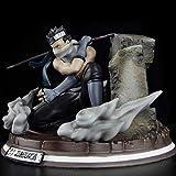 28cm Naruto Momochi Zabuza Action Figure Shippuden Sword Zabuza Kirigakure No Kijin Model Anime Figure PVC Figural Toy Doll