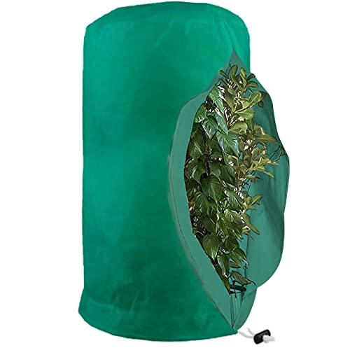 Frostschutz für Pflanzen, Schutz gegen Frost von Pflanzenabdeckungen und Abdeckung gegen Pflanzengel, für den Winter, Fleecejacke für den Garten