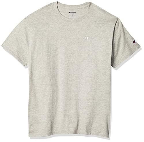 Champion Men's Classic Jersey T-Shirt, Oxford Gray, M