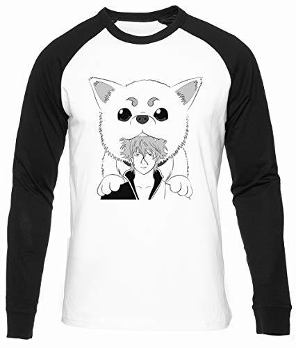 Plata Alma Algodon Organico Unisex Camiseta Beisbol Hombre Mujer Manga Larga Tamaño S Unisex Baseball T-Shirt Long Sleeves Size S