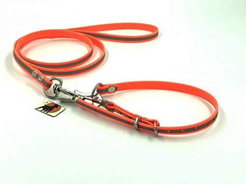 HWP ComfiCord® Befreiungsleine Rettungshundeleine Typ 1, 13mm x 120cm Gr.1, Signalorange Reflektierend
