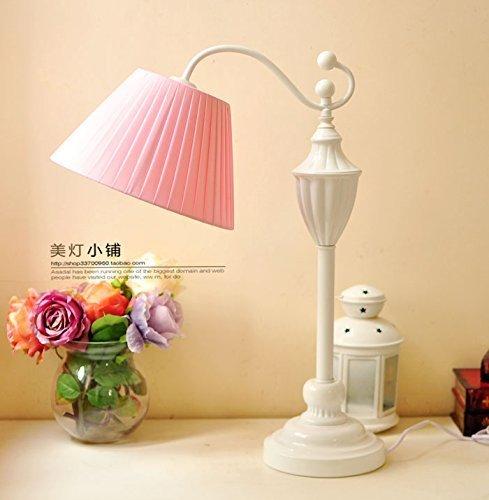 Family Utility Tischlampe-Schlafzimmer Kopflampe Continental Mix Frische Nordische Literatur und Art-Deco-Lampen, T-D