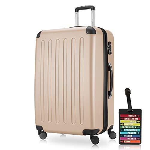 HAUPTSTADTKOFFER® Set di valigie · (49.0;82.0;128.0 liters) · TSA BLOCCO · più colori (Verde)