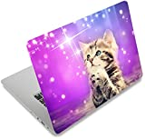 Laptop Skin Sticker Decal,12' 13' 13.3' 14' 15' 15.4' 15.6 inch Laptop Skin Sticker Cover Art Decal Protector Notebook PC (Cat)