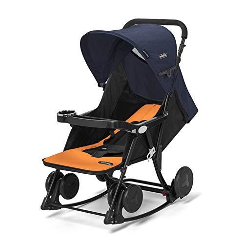 GOUO@ Silla Mecedora Eléctrica 2 En 1 para Bebés Carro para Bebés...