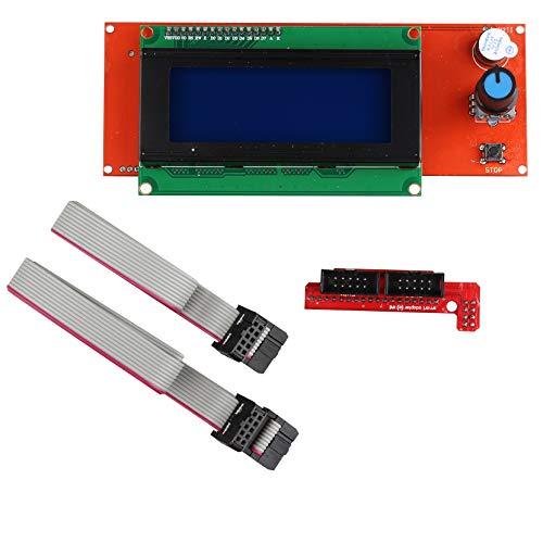 Jopto 2004 LCD Grafica Intelligente Display Modulo Controller Schermo Con Adattatore e Cavo Compatibile per Stampante 3D Controller RAMPE 1.4 Arduino