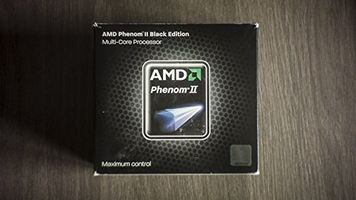 AMD Phenom II X4 965 3.4GHz 6MB L3 Caja - Procesador (AMD Phenom II X4, 3,4 GHz, Socket AM3, 45 nm, 64 bits, 6 MB)